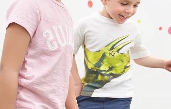 Детские футболки с принтом мода детки
