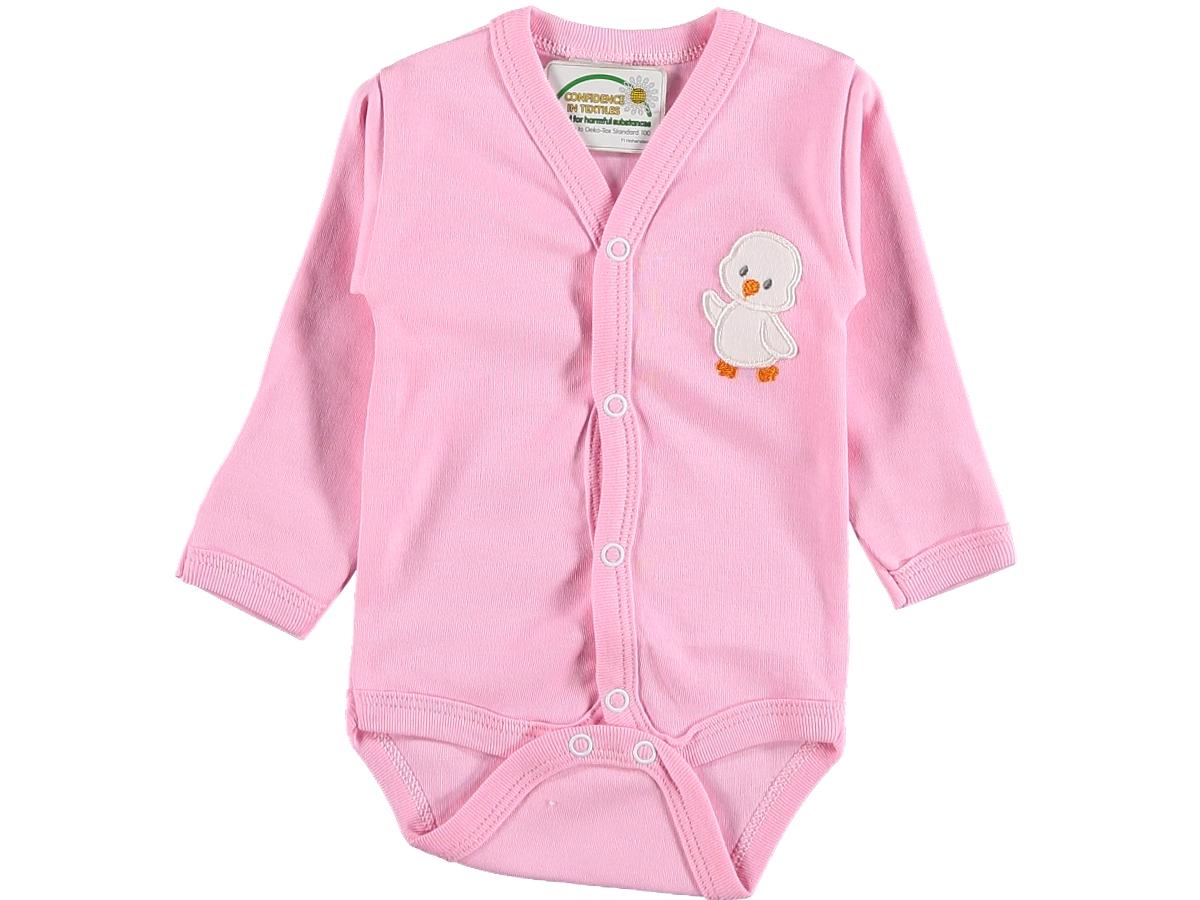 Боди детское 203123 розовое