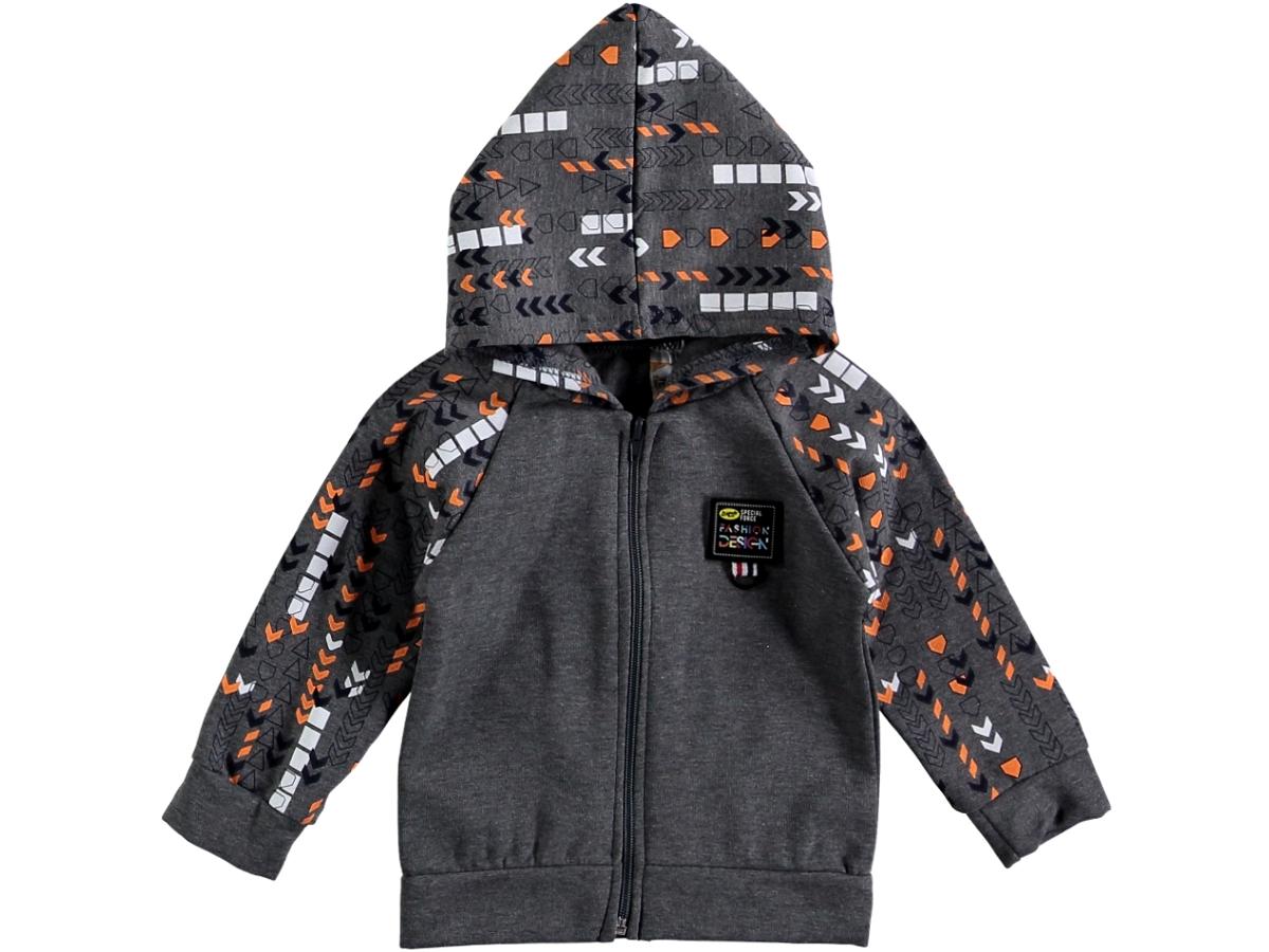 Кофта детская темно-серая 307020