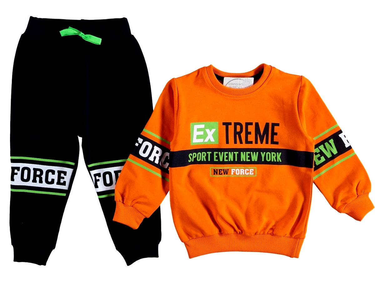 Спортивный костюм оранжевый 308614